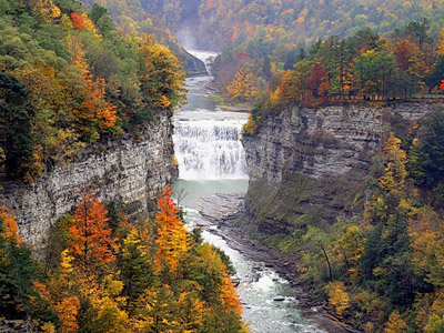 Bus Tours Through The Finger Lakes Region With Hayfield